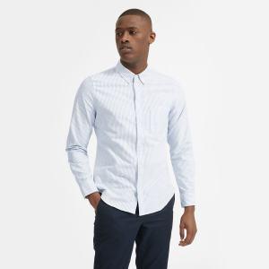Everlane oxford uniform dress shirt, wedding attire for men