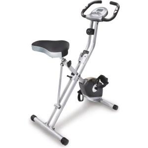 Exerpeutic Folding Upright Exercise Bike, best foldable exercise bikes
