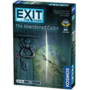 exit game, 2 player board games