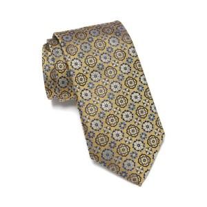 floral medallion silk tie, wedding attire for men