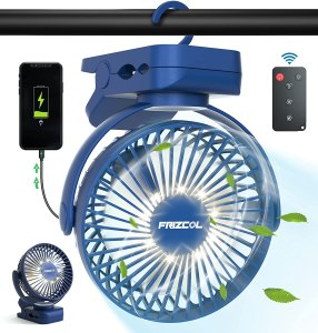 Battery-Powered Fans frizcol