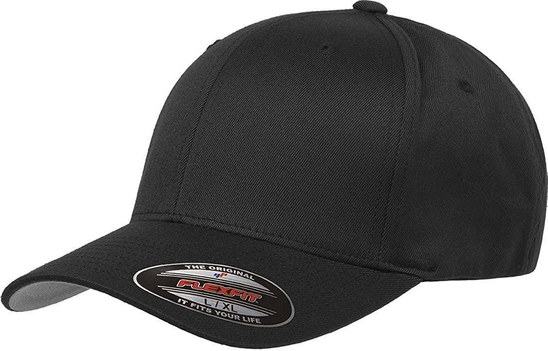 Flexfit Men's Athletic Baseball Fitted Cap; best hats for bald guys