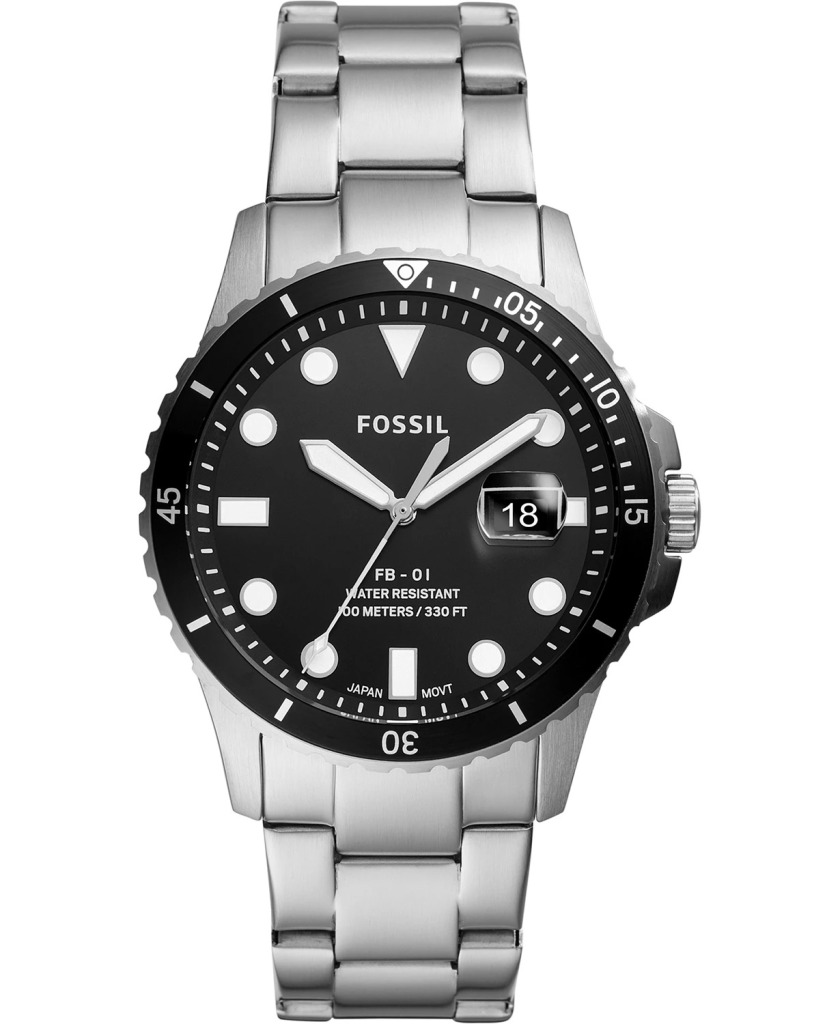 Fossil-Blue-Diver-Stainless-Steel-Diver-Watch