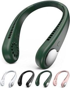 Battery-Powered Fans gaiatop neck