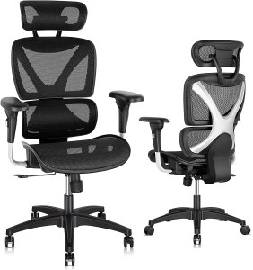 best computer chair for long hours- Gabrylly Ergonomic Office Chair