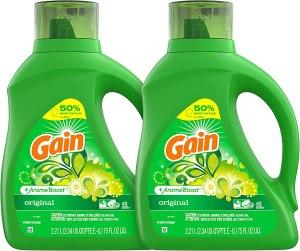 best smelling laundry detergent gain