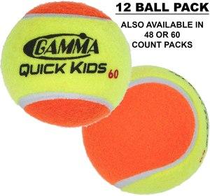 gamma quick kids transition practice tennis balls