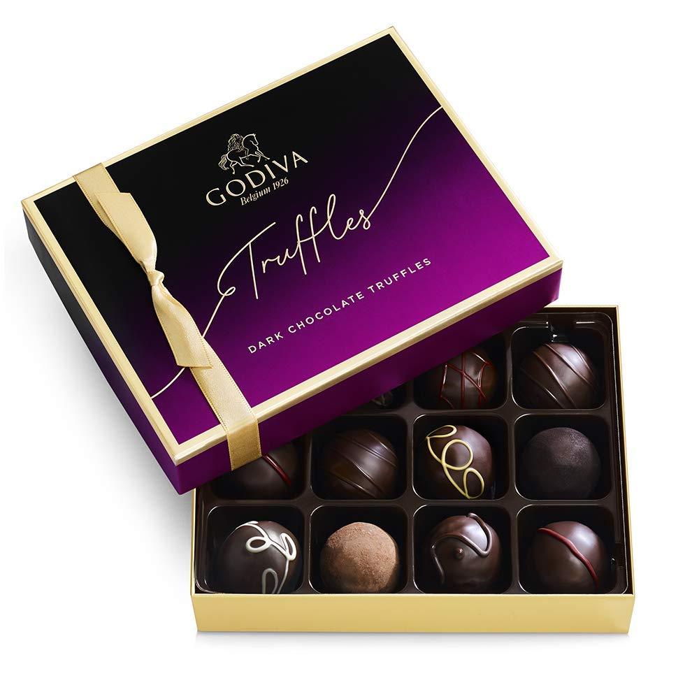 Godiva Chocolatier Dark Chocolate Truffles, best dark chocolate