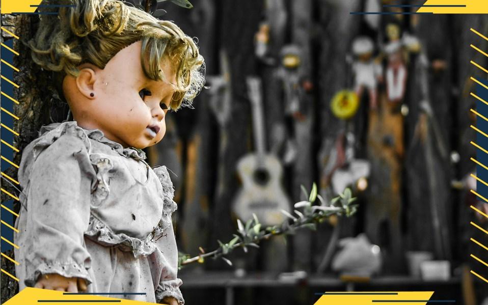 haunted dolls on eBay