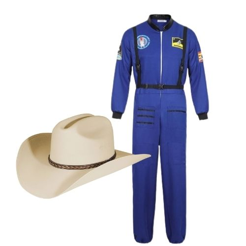 Jeff Bezos Space Halloween Costume, work-appropriate Halloween costumes