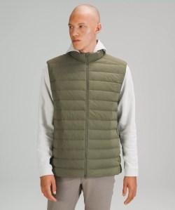 navigation stretch down vest, lululemon outerwear