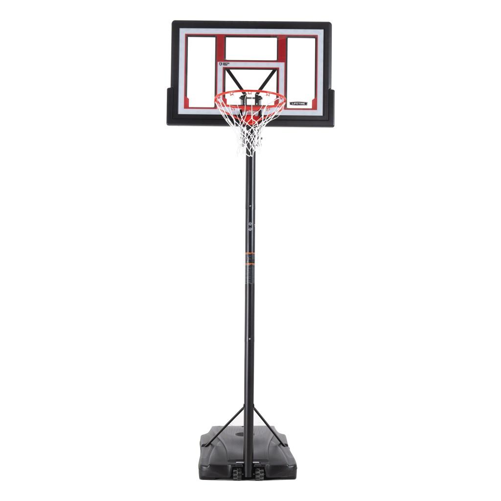 "Lifetime 48"" Adjustable Portable Basketball Hoop"
