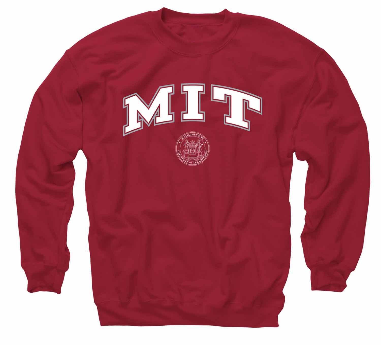 MIT Engineers red crewneck sweatshirt