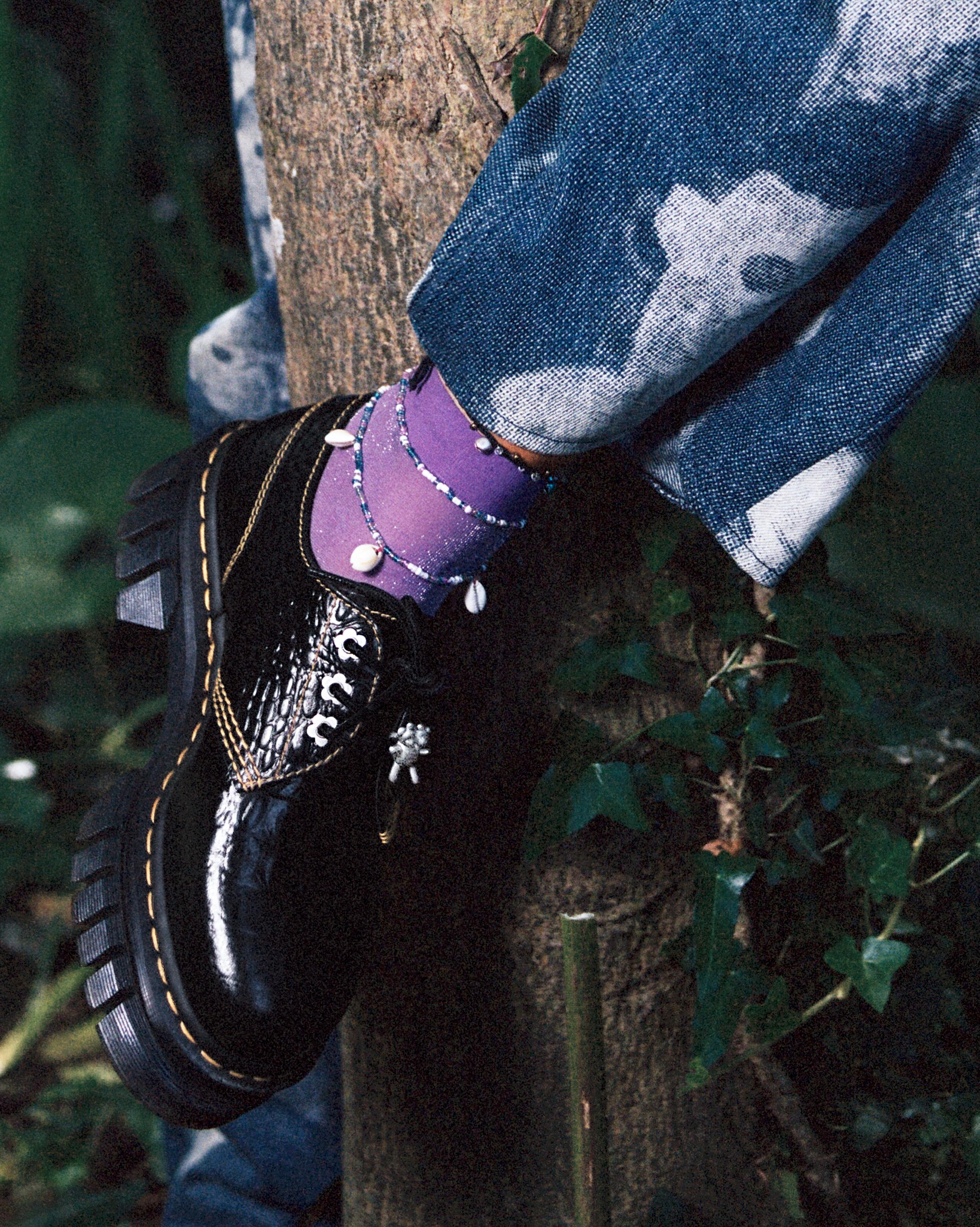 Dr. Martens x Heaven by Marc Jacobs' Audrick 3i HMJ Croc shoe