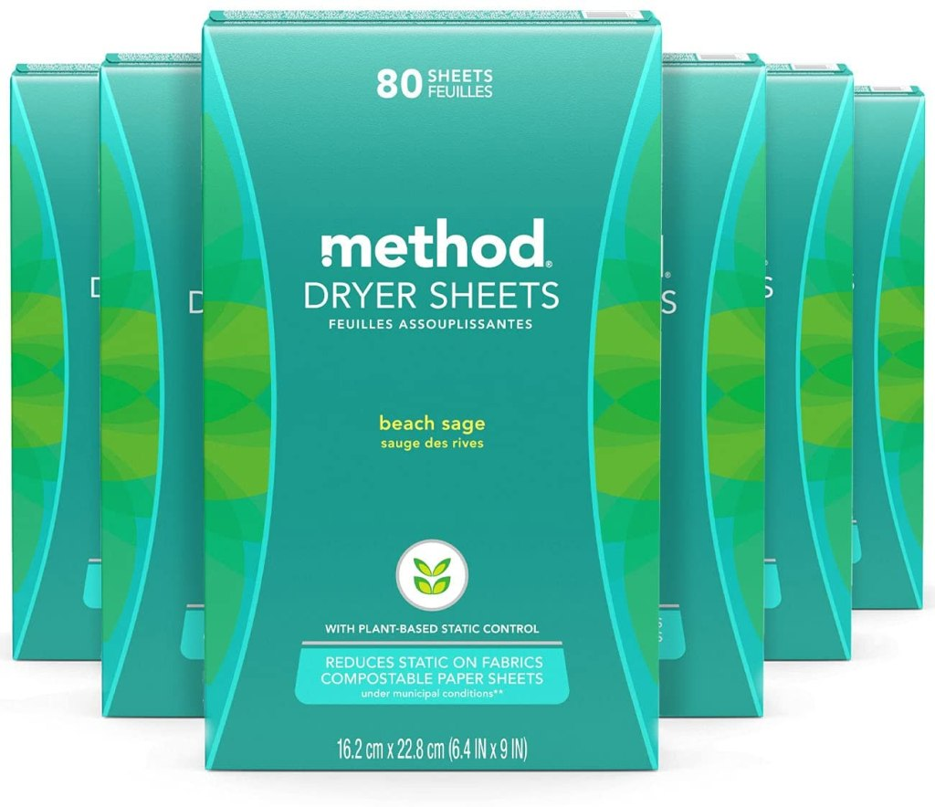 Method Dryer Sheets
