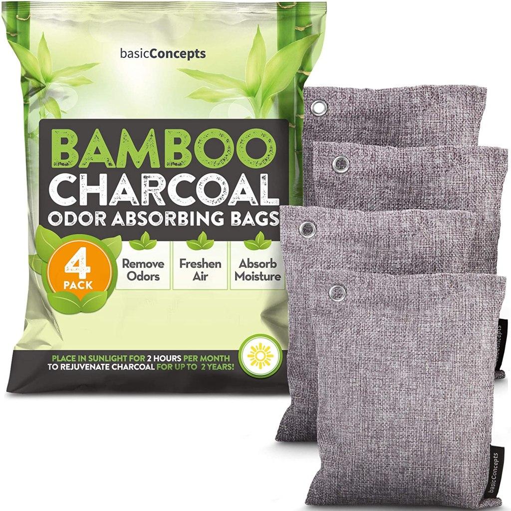 Nature Fresh Bamboo Charcoal Air Purifying Bags