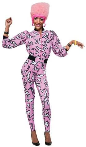 Nicki Minaj Collection Pink Jumpsuit and Belt Costume