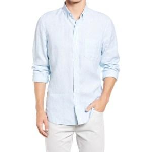 Nordstrom linen shirt, wedding attire for men