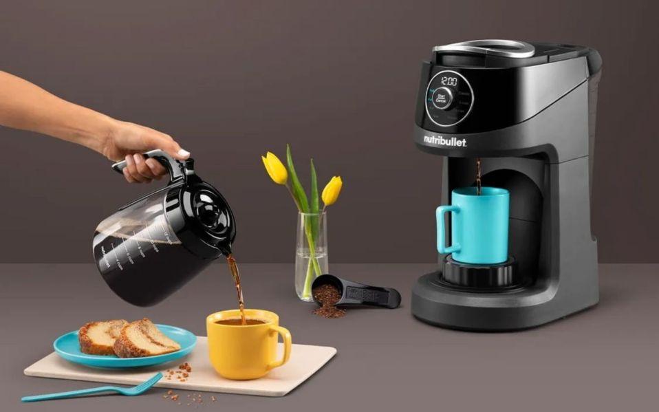 Brew Choice Pod + Carafe Coffee