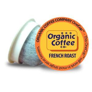 organic coffee company onecup french roast
