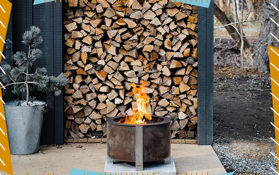 best smokeless fire pit