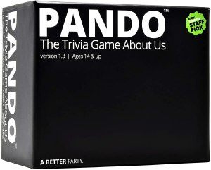 pando trivia game, best 2 player board games