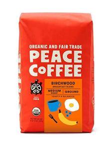 best organic coffee peace coffee birchwood breakfast