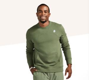 Peloton rush crewneck pullover, peloton apparel