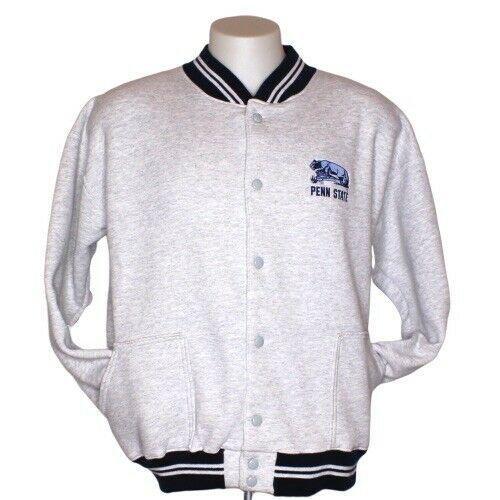 Penn State Nittany Lions Vintage Snap Front Sweatshirt Jacket