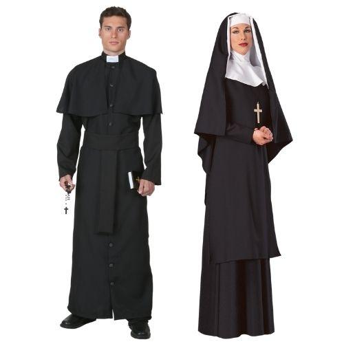 Priest and Nun Costume