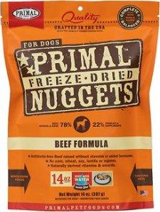 best organic dog food primal beef formula