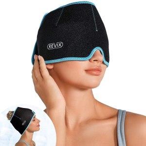 REVIX migraine headache relief hat, headache hats
