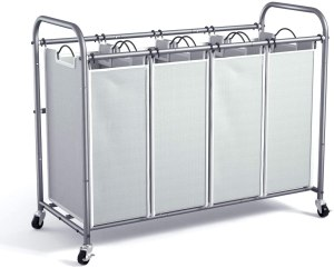romoon 4 bag laundry basket