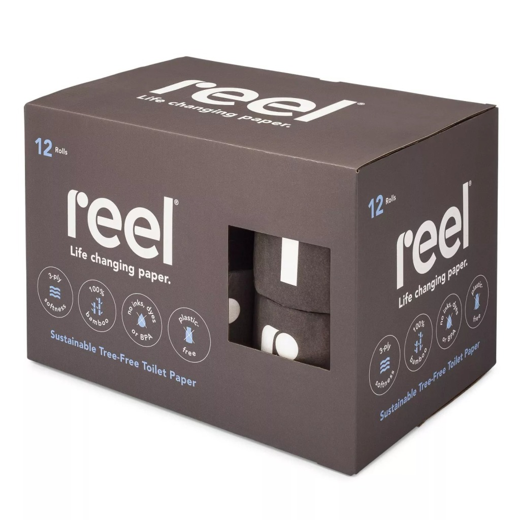 Reel Tree-Free Toilet Paper