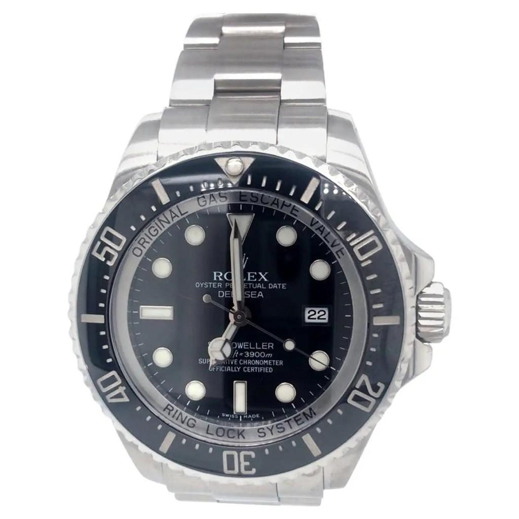 Rolex-Deepsea-Sea-Dweller-116660-Stainless-Steel-Black-Ceramic-Dial-Watch