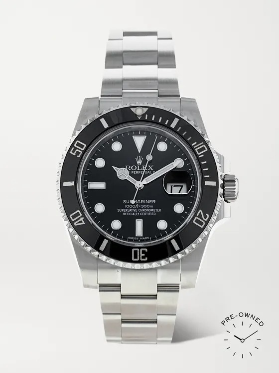 Rolex-Pre-Owned-2008-Submariner-Automatic-Oystersteel-Watch