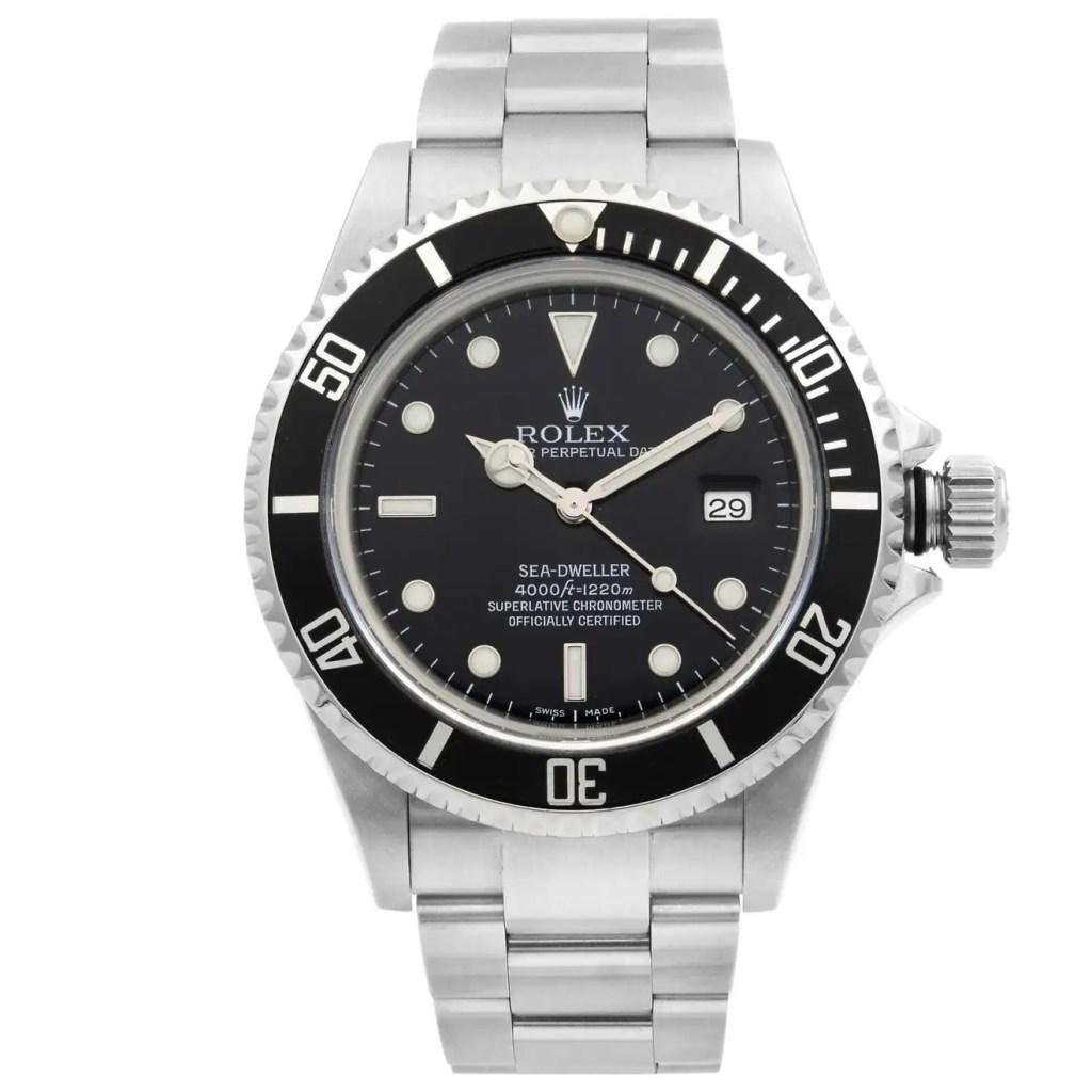 Rolex-Sea-Dweller-Steel-Black-Dial-Automatic-Mens-Watch-16600