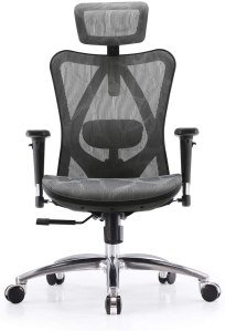 SIHOO Ergonomic Adjustable Office Chair, best computer chair for long hours