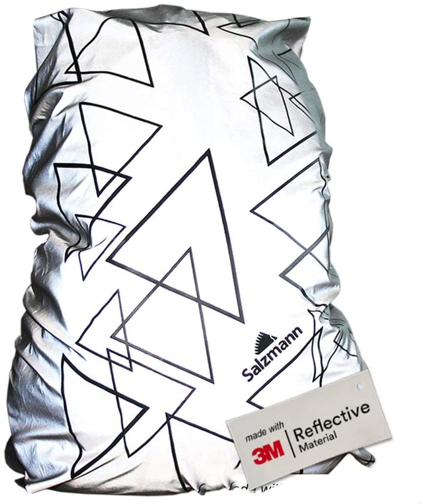 Salzmann 3M Reflective Backpack Cover; best backpack rain covers