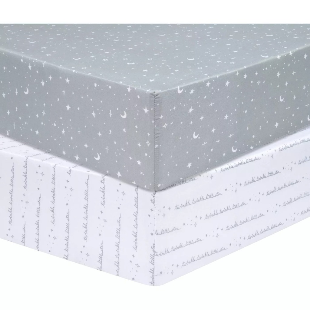 Sammy & Lou Baby 2 Pack Fitted Crib Sheet