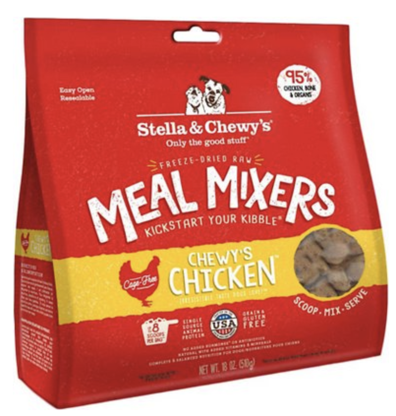 Chicken Meal Mixers Freeze-Dried Raw Dog Food Topper