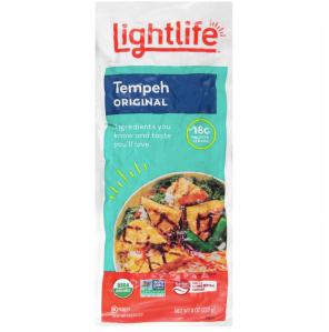 Lightlife original organic tempeh, meat alternatives