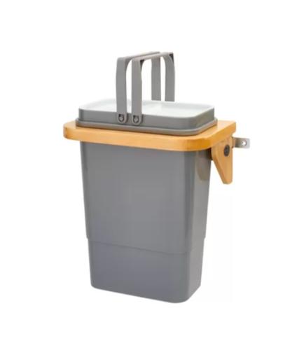 Rev-A-Shelf Vanity Door Mount Steel 2-Gallon Recycling Bin