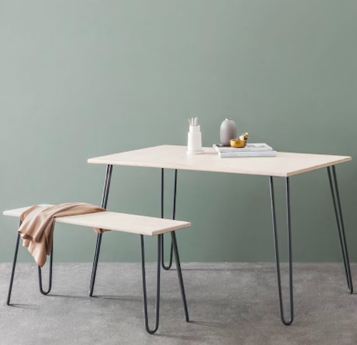 Cord Industries Hairpin 4-Person Dining Set