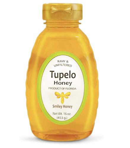 Smiley Honey Raw Tupelo Honey