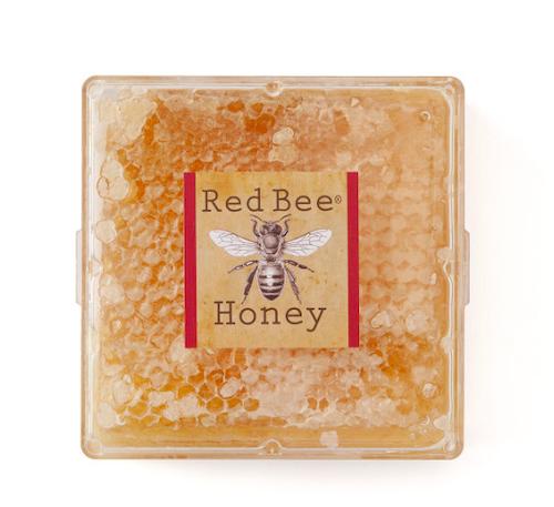 Red Bee Honey Raw Wildflower Honeycomb