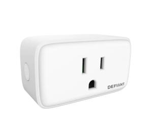 Defiant smart plug, Hubspace app