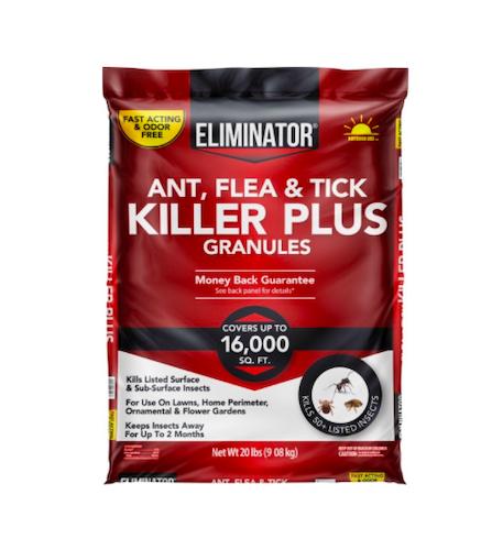 Eliminator Ant, Flea & Tick Killer Plus Granules