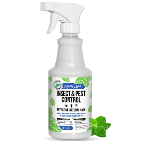 Mighty Mint Insect and Pest Control Peppermint Oil Spray
