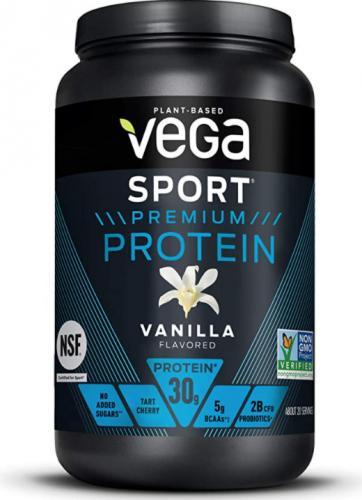 Vega Sport Premium Protein Vanilla, best tasting protein powders